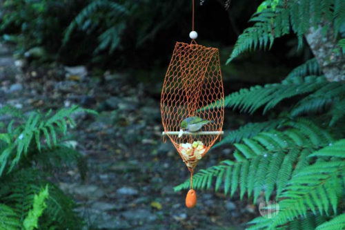 Large Perch Pendant Tree Earring Bird Feeder