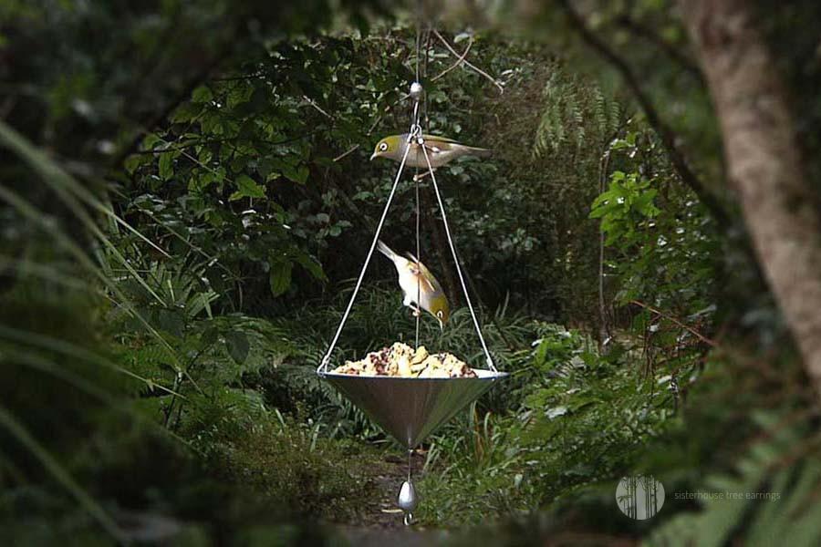Salver Tree Earring Bird Feeder