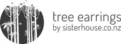 Tree Earrings by Sisterhouse Logo